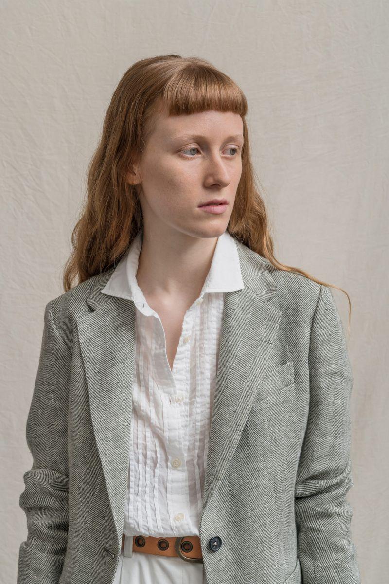 Пример модной прически 2021. Фото с показа Massimo Alba