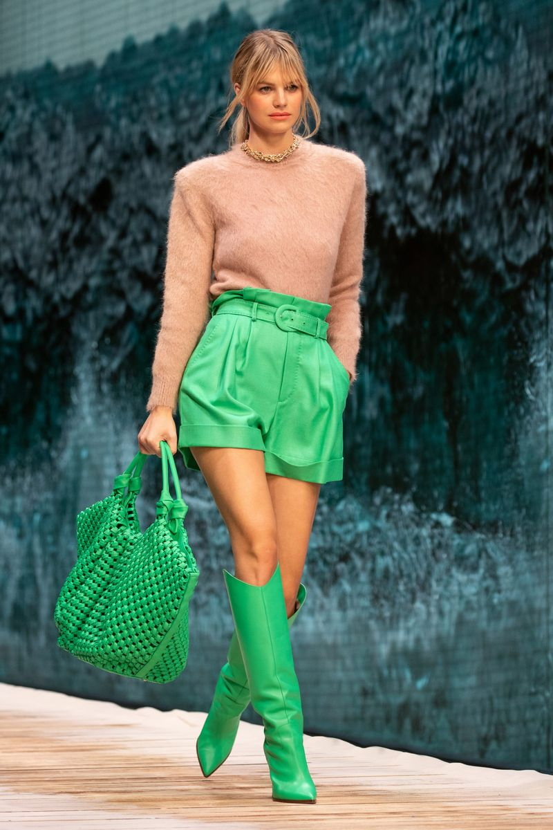 Модные плетеные сумки 2021 Ralph Russo