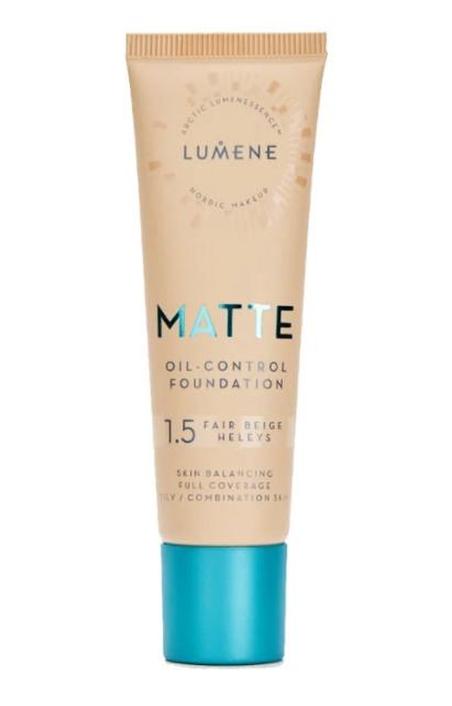 TOP-2 среди лучших тональных кремов для жирной и комбинированной кожи Lumene Matte Oil-Control