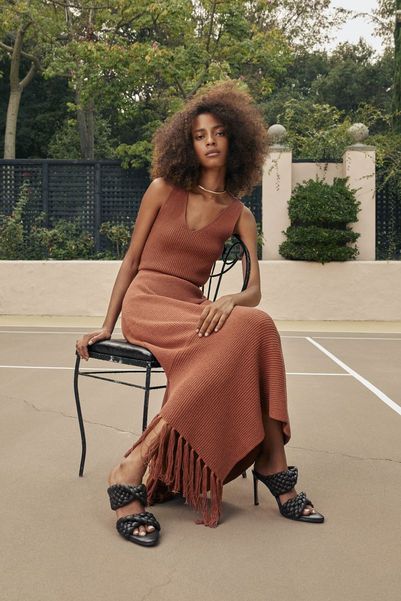 Модное платье весна-лето 2021 из коллекции A.L.C.
