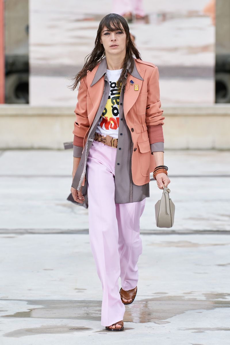 Модный пиджак из коллекции весна-лето 2021 Chloé