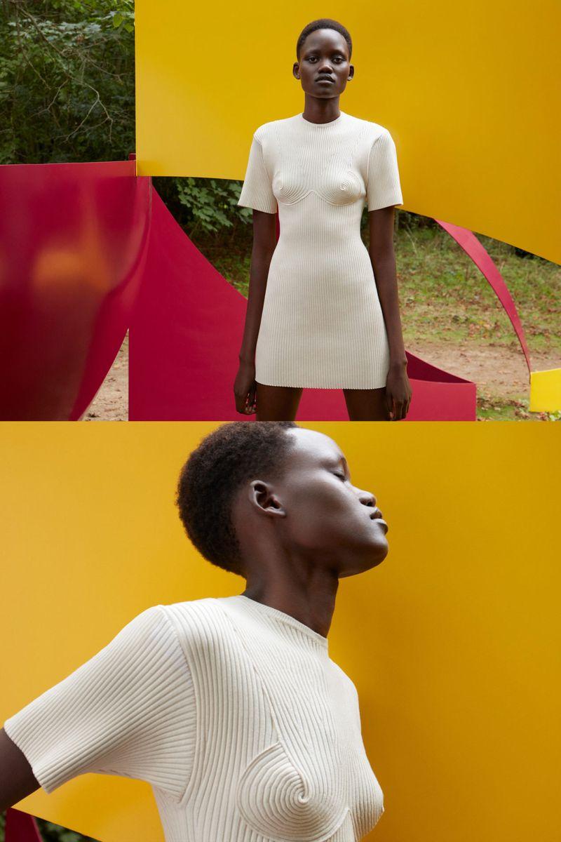 Модное платье весна-лето 2021 из коллекции Stella McCartney