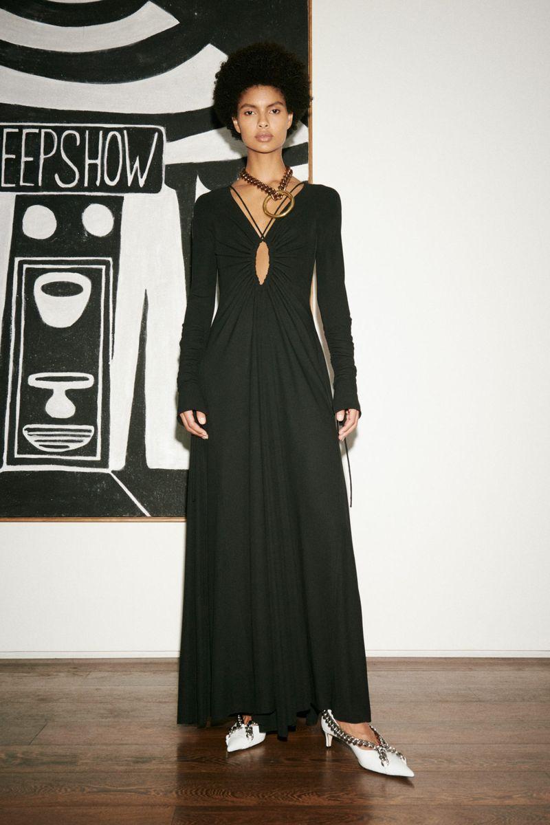 Модное платье весна-лето 2021 из коллекции Victoria Beckham