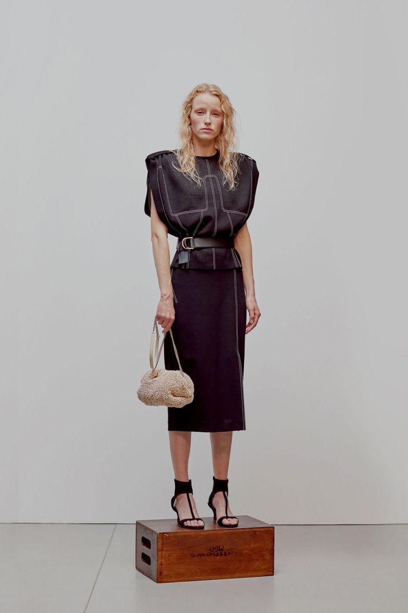 Модная юбка весна-лето 2021 из коллекции Anteprima