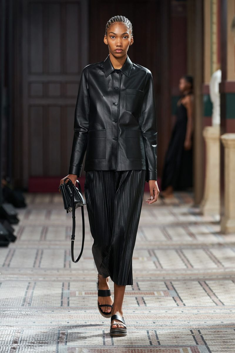Модная юбка весна-лето 2021 из коллекции Gabriela Hearst