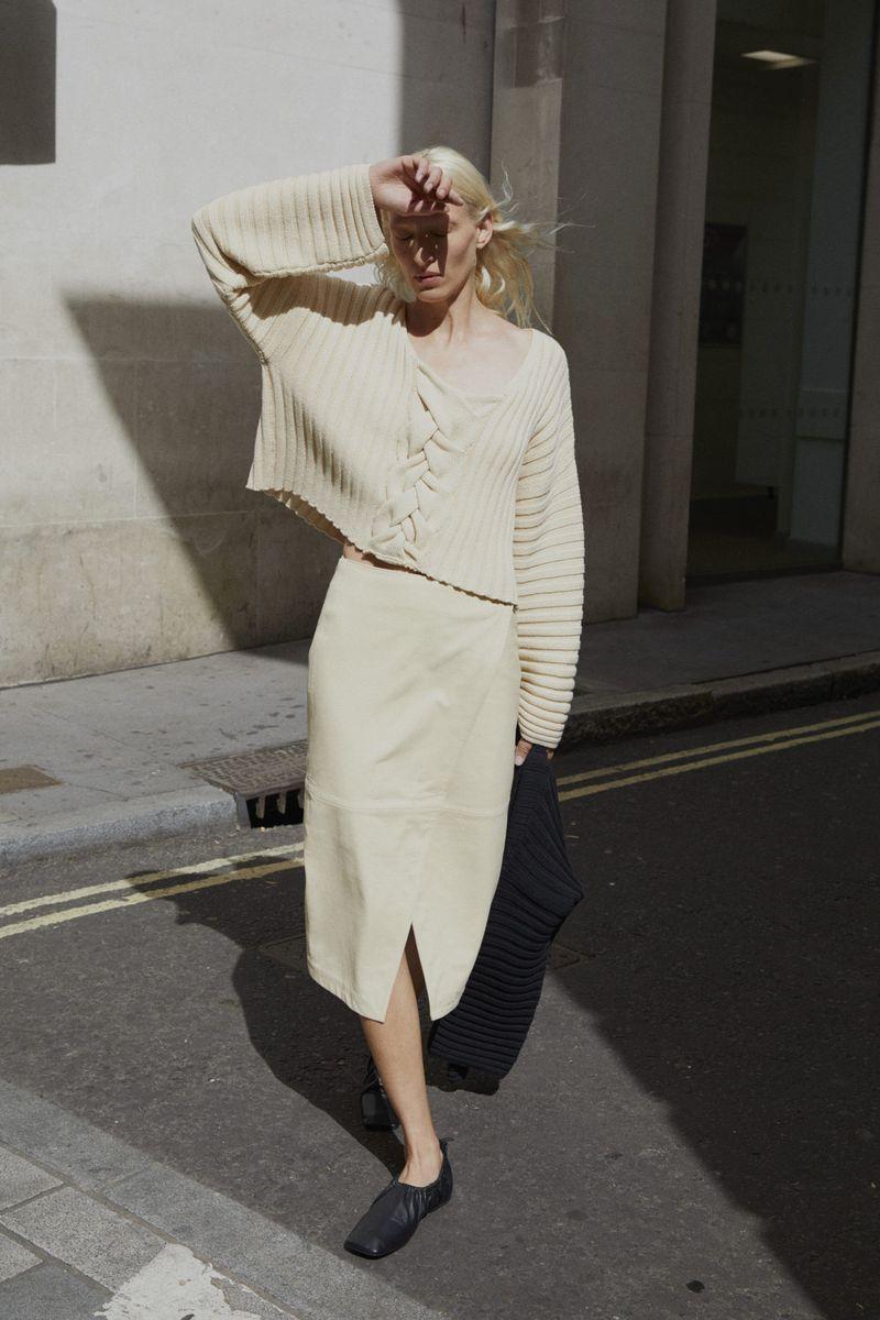 Модная юбка весна-лето 2021 из коллекции House of Dagmar