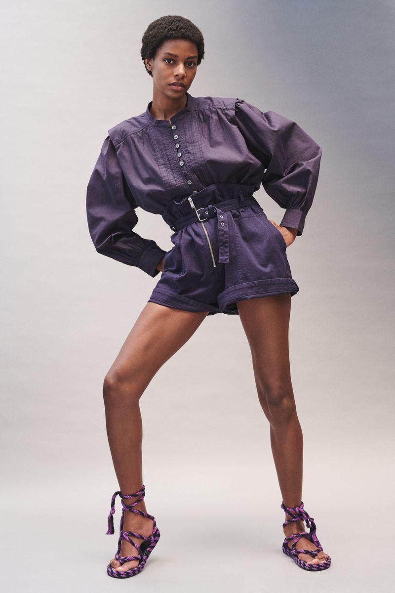 Модная блузка Isabel Marant Etoile: тенденции весна-лето 2021
