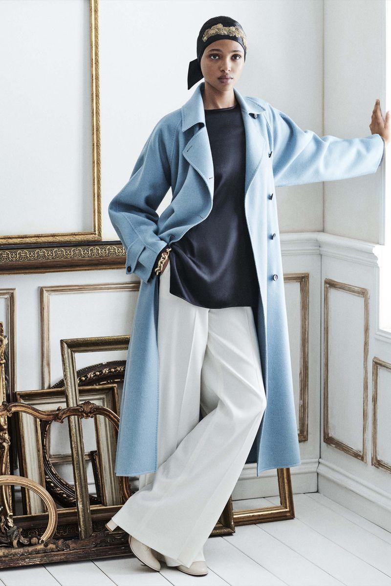 Модная тенденция весна-лето № 3 –модное удлинённое пальто. Коллекция Max Mara