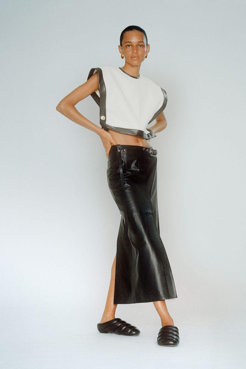 Модная юбка весна-лето 2021 из коллекции Proenza Schouler