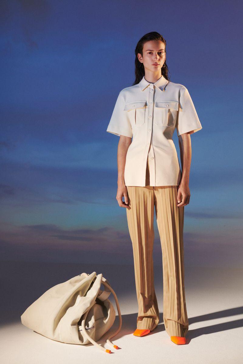Модная блузка весна-лето 2021 из коллекции Sportmax