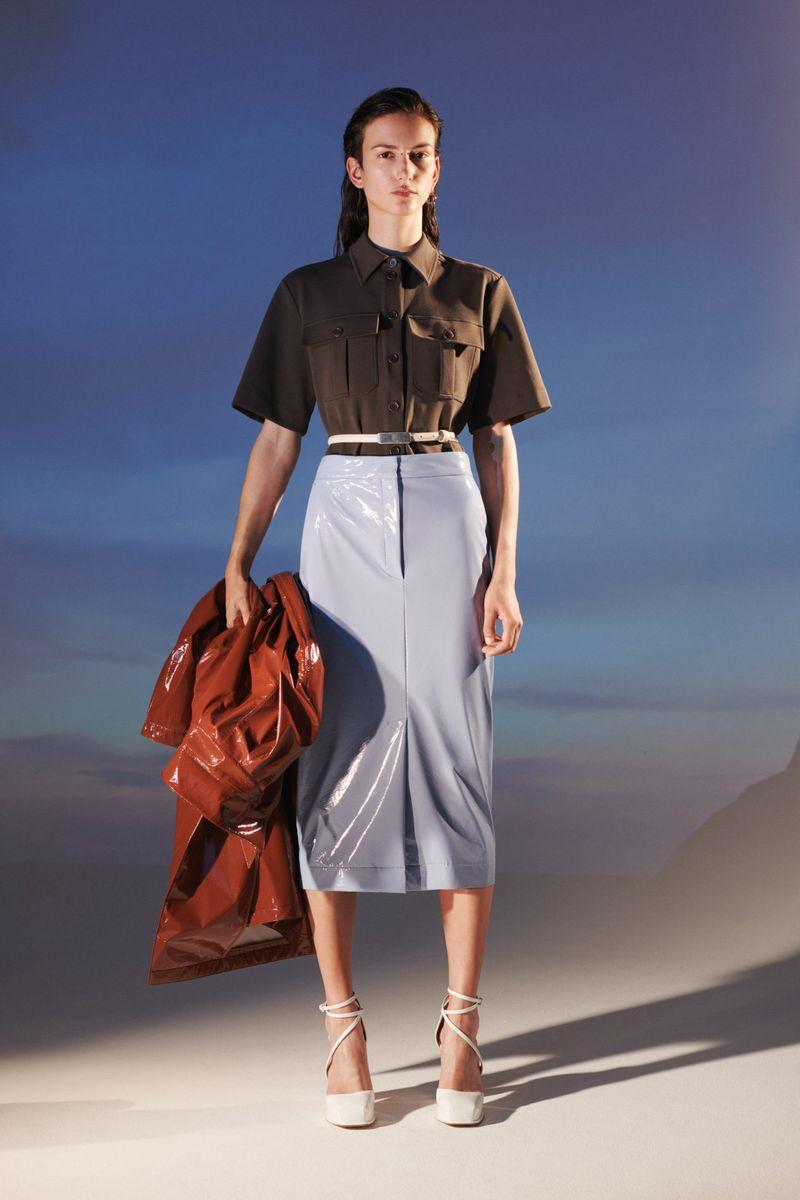 Модная юбка весна-лето 2021 из коллекции Sportmax