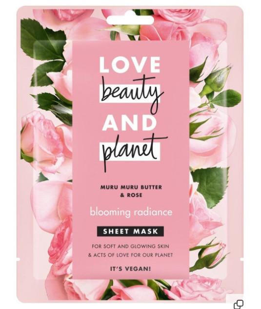 """ТОП-8 в рейтинге тканевых масок Love Beauty and Planet """"Цветущий Вид"""""""