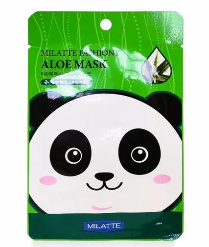 ТОП-4 в рейтинге тканевых масок для лица Milatte Aloe mask