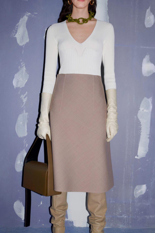 Тренды осень-зима 2021-2022 в аксессуарах. Модные сумки из коллекции Jil Sander.