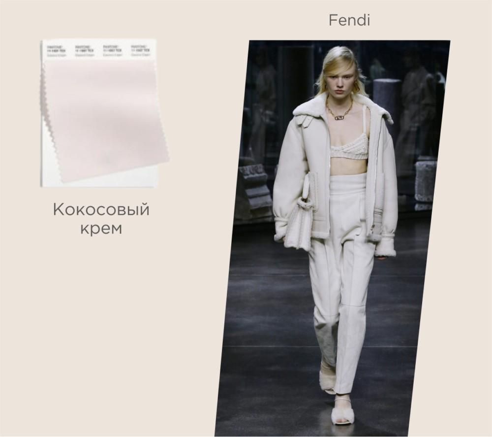 Модный базовый цвет осень-зима 2021-2022