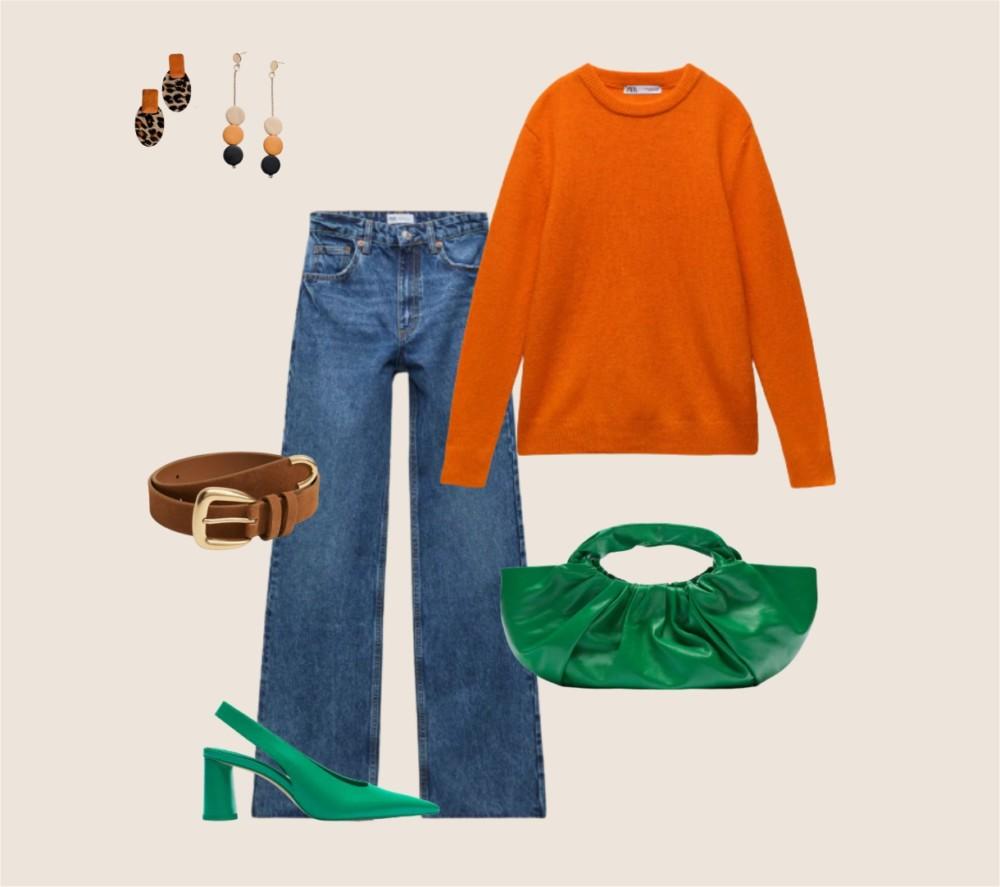 Образы с модным цветом сезона осень-зима 2021-2022