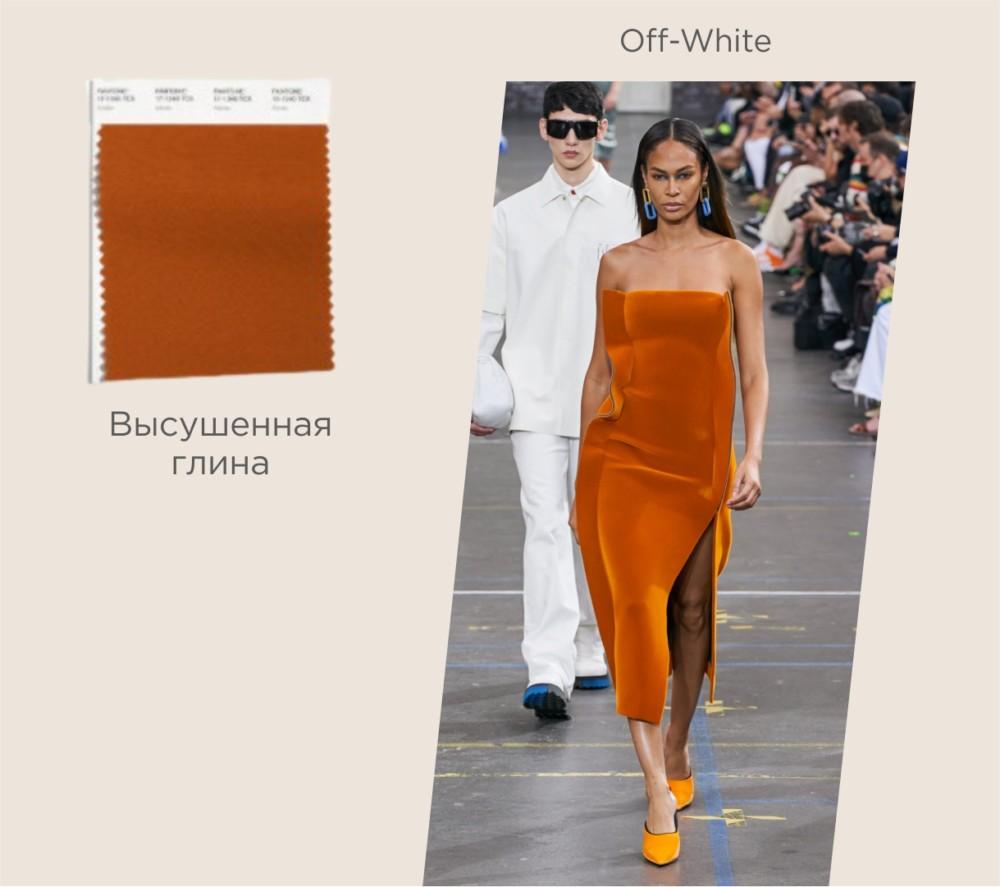 Модный цвет осень-зима 2021-2022 № 3 – высушенная глина