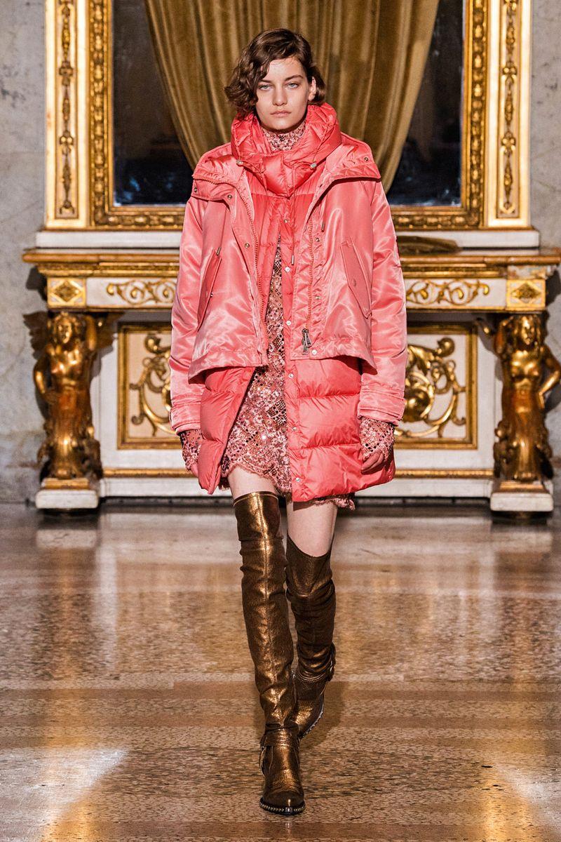 Модная куртка осень-зима 2021-2022 Ermanno Scervino