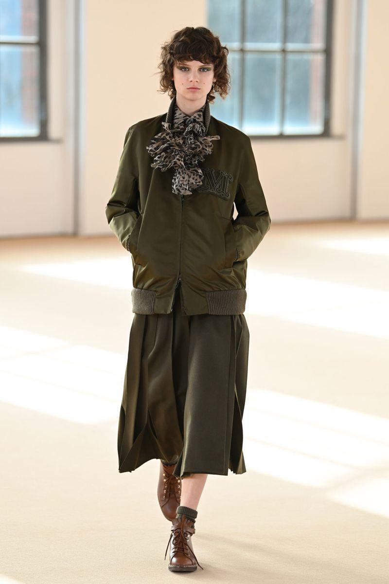 Модная куртка осень-зима 2021-2022 Max Mara
